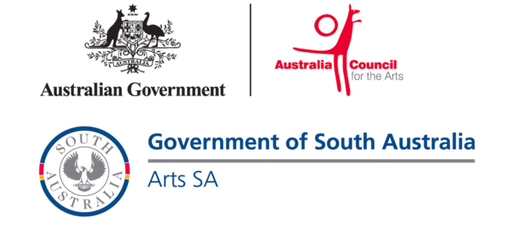 ArtsSA and Gov't logos