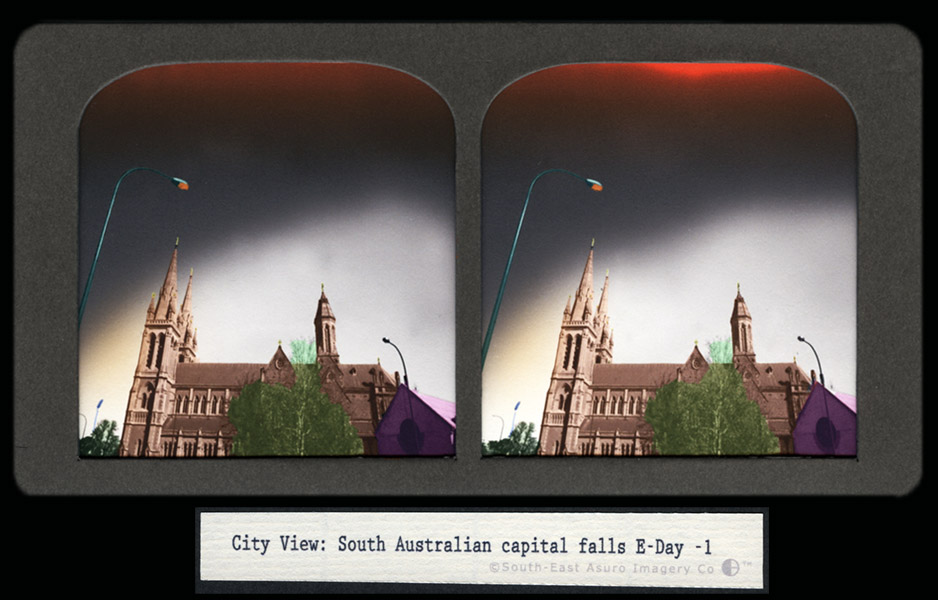 CJ Taylor photographic artwork Australian Conflict Stereoview I