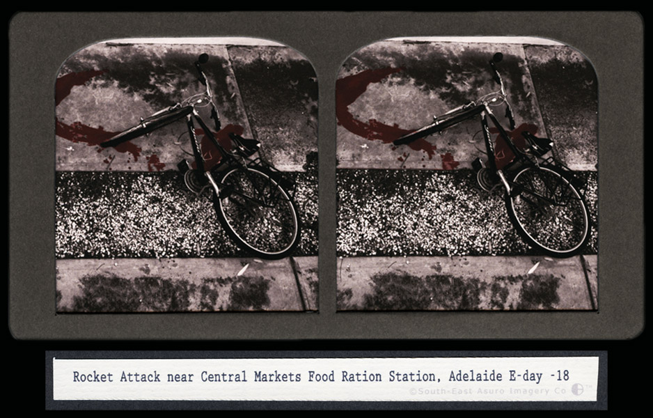 CJ Taylor photographic artwork Australian Conflict Stereoview II