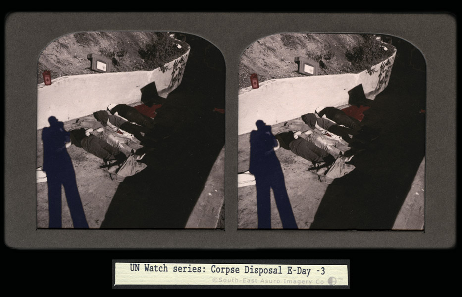 CJ Taylor photographic artwork Australian Conflict Stereoview IV