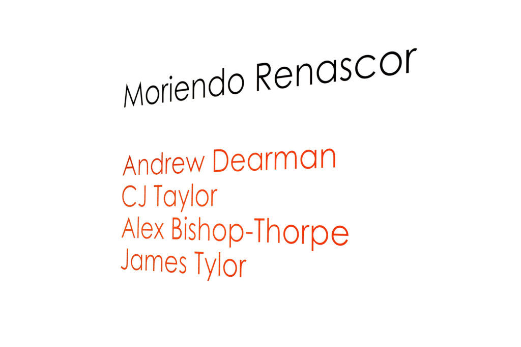 Moriendo Renascor, May 20 - July 11 2014, SASA Gallery, Adelaide.